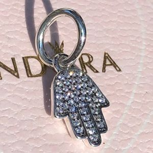 Pandora Symbol of Protection (Hamsa)  Dangle